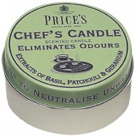 Price's Candles Chefs Tin - Scented